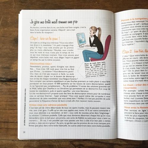 Mon cahier super organisée - Vie numérique