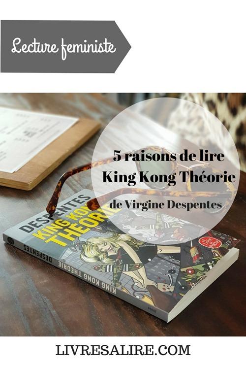 livre, lecture, féminisme, virginie despentes, king kong théorie (1)