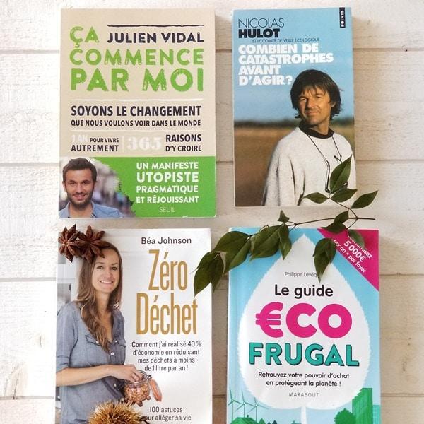 4 livres pour être plus ecolo ou green -Livresalire- Emma Perié