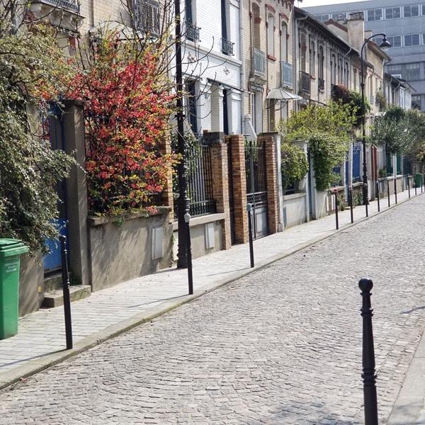 Butte aux cailles - visite Paris