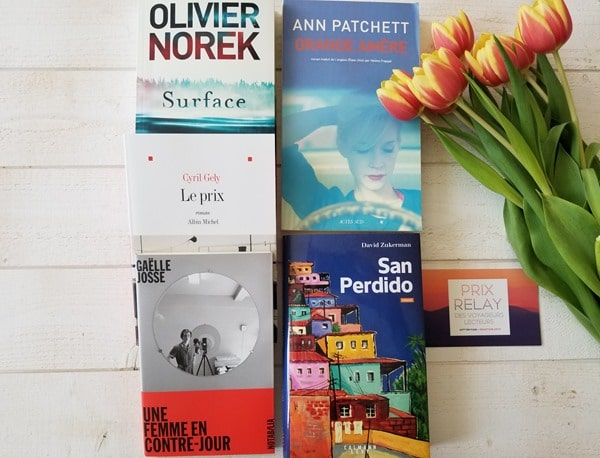 Prix Relay Voyageurs Lecteurs - Blog Littéraire
