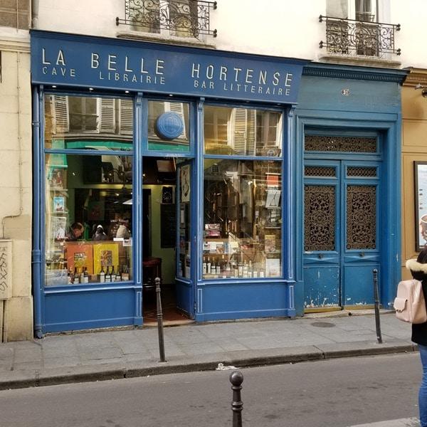La Belle Hortense - café, bar, cave littéraire