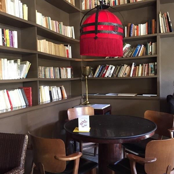 Le fumoir - bar restaurant Paris littéraire