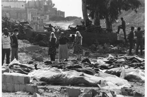 LIBAN 16 ET 17 SEPTEMBRE 1982 MASSACRE DE CHATILA