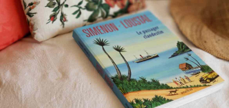 Simenon Loustal - Le passager clandestin - blog littéraire