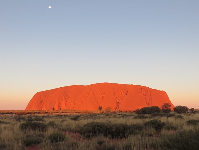 uluru - Ayers Rock -Australie - blog littéraire voyage