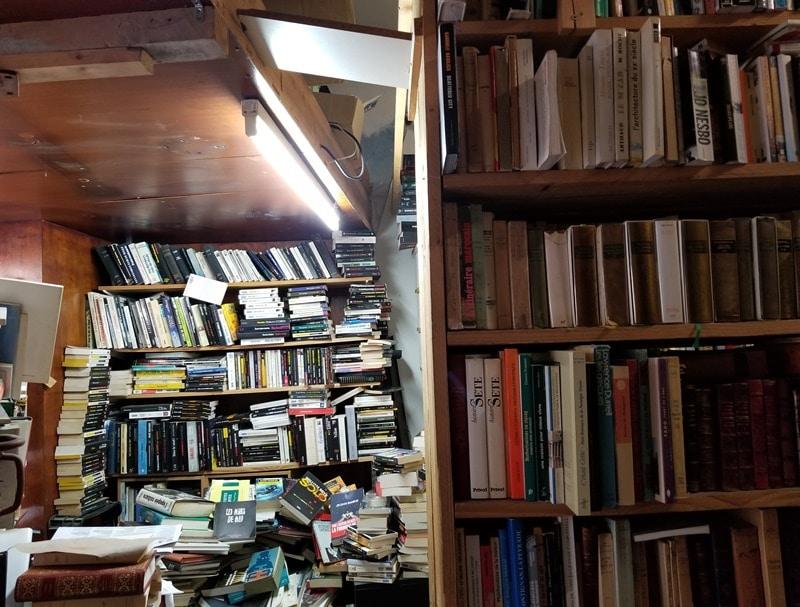 Sète livres d'occasion