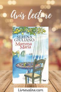 Avis lecture Serena Giuliano - Mamma Maria