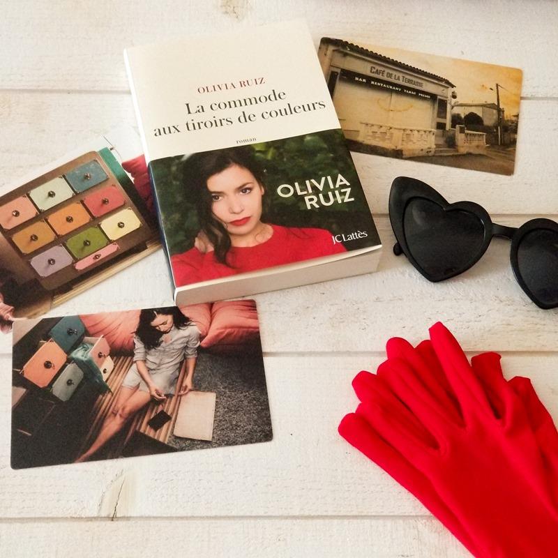 La commode aux tiroirs de couleurs - Olivia Ruiz