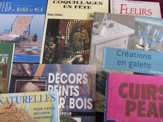 Photo livres activité manuelle diy matières naturelles