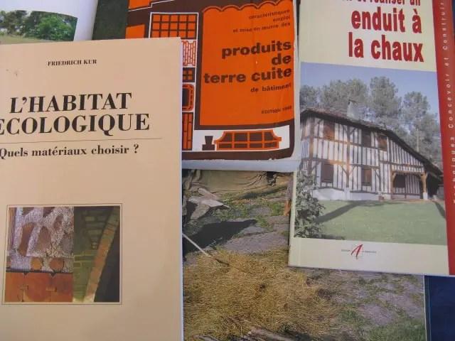 Photo livres construction maison