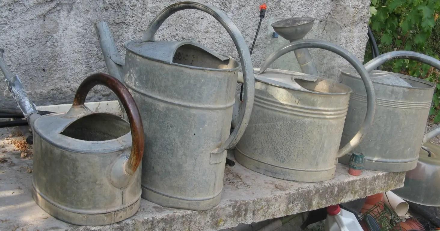 arrosoirs anciens arrosage