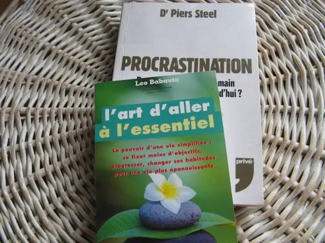 livre : arrêter la procrastination ?