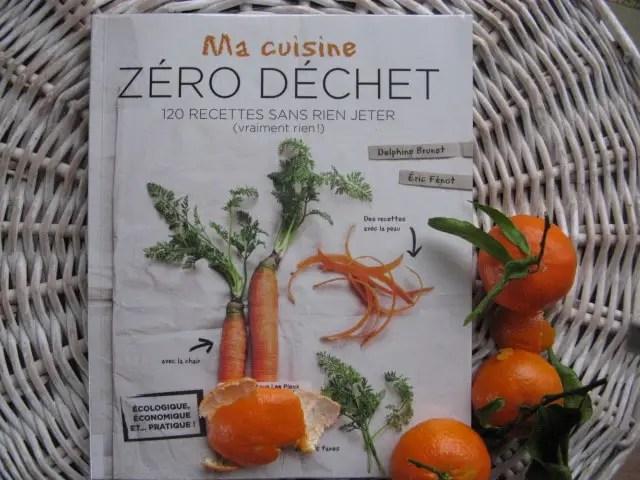 livres cuisine zéro déchet zéro épluchure