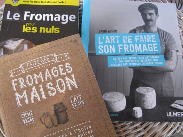 Livres fabrication du fromage mode d'emploi
