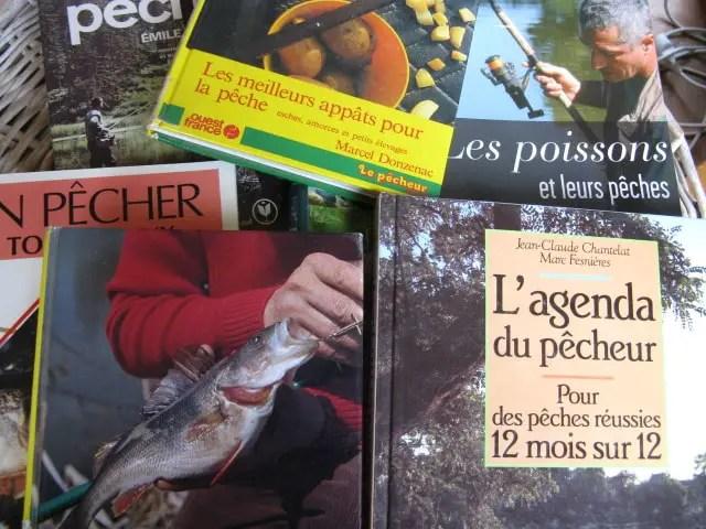 livres sur la pêche en rivière