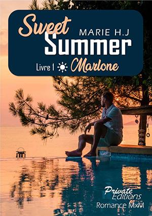 """Couverture de """"Sweet Summer"""", livre 1"""