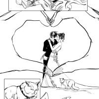 História em quadrinhos do casamento Tessa e Jem! Por Cassandra Clare!!!
