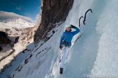 Ice climbing is just fun ! ©andyparant.com