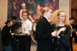 GB. England. London. Frieze Art Fair Week. The Mulberry Party at the Mulberry Store. From 'Luxury'. 2008.