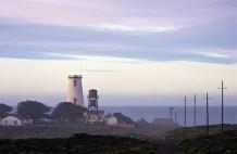 The Piedras Blancas Light Station.
