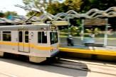 The new Expo Line, continuing the segment from La Cienega to Santa Monica.