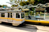 The new Expo Line, continuing the segment from La Cienega to Santa Monica.