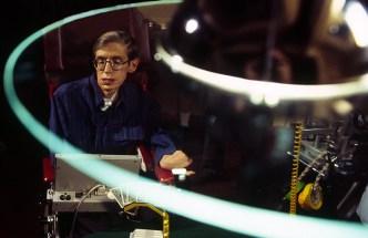 Stephen Hawking, world-renowned scientist.