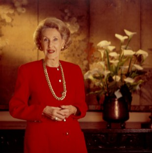 Photographed for USC, in her home.