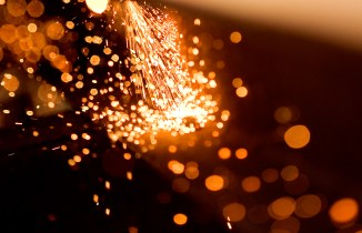 Welding is one of those things that create beautiful imagery.