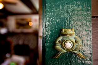 The Craftsman's doorbell.