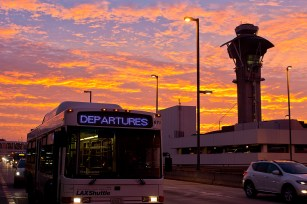 Another early morning moment at LAX.