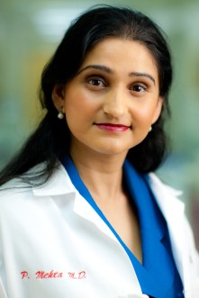 Dr. Puja Mehta, Cedars-Sinai Medical Center.