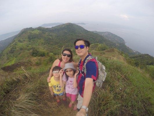 summit of Gulugod Baboy
