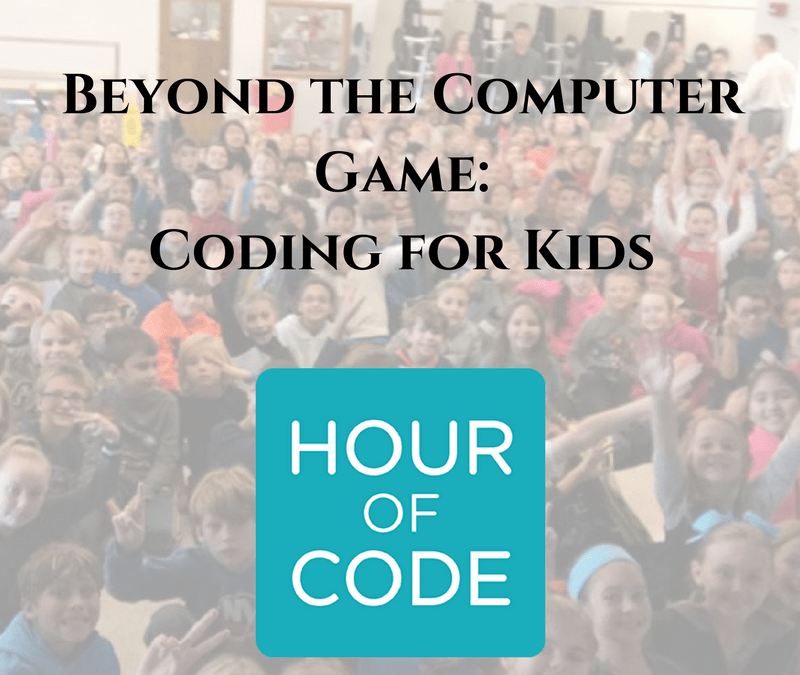 Beyond the Computer Game: Coding for Kids