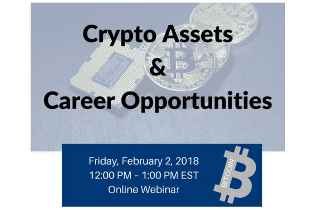 Crypto Assets & Career Opportunities: Recording