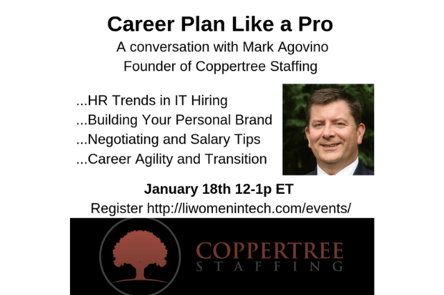 Career Plan Like a Pro featuring Mark Agovino of Coopertree Staffing