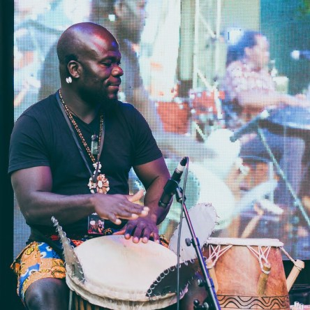 Melbourne Blue Black Beatz African Traditional Ensemble at Immigration Museum