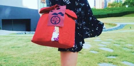 【2020年節禮盒】原味千尋乳酪絲,日本緹花布手工縫製送禮好體面。