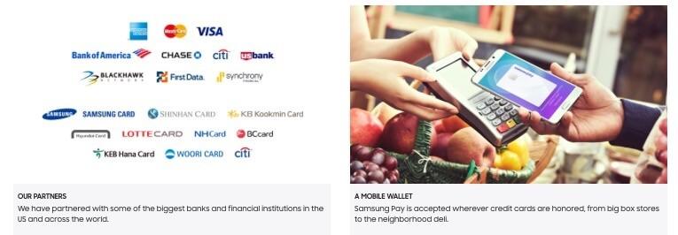 Samsung Pay yang berfungsi sebagai Mobile Walet