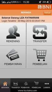 mobile banking BNI