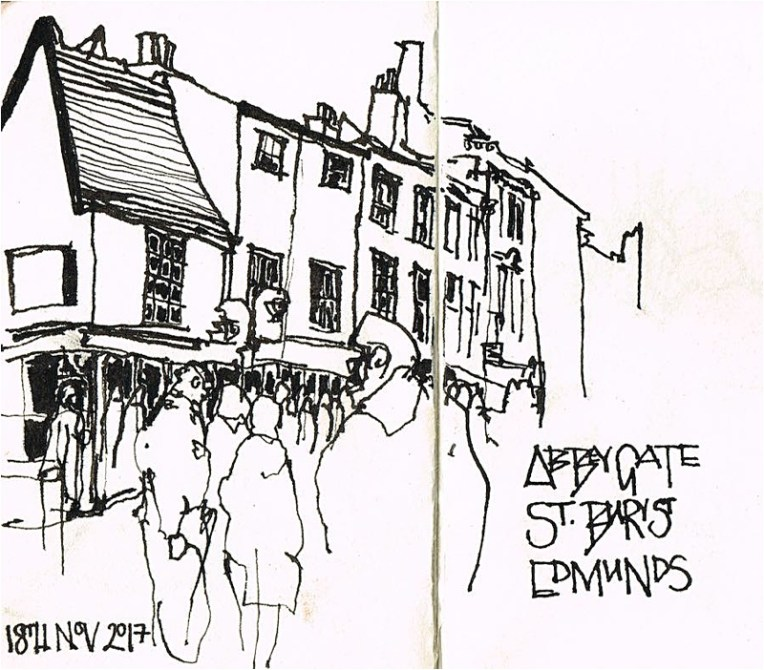 Pen and Ink Bury St Edmunds LizsScribbles