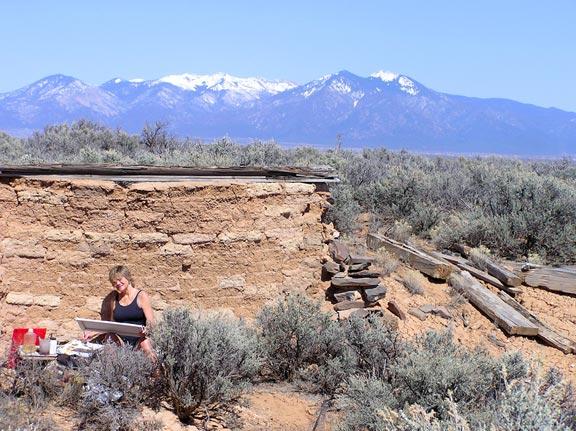 Carson, New Mexico, 87517