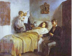 Science and Charity, painted by Picasso at age 16.