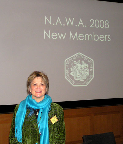 NAWA induction ceremony at the Met!