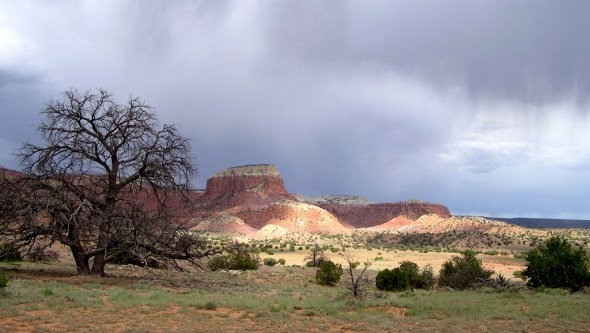 Ghost Ranch. In the land of Georgia O.