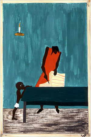 From the Migration Series, Jacob Lawrence