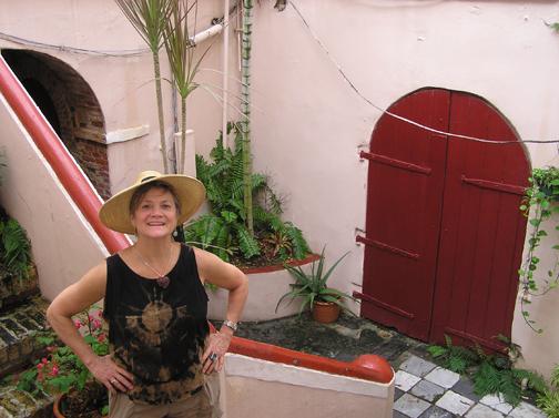 Pissaro's house, Charlotte Amalie, St. Thomas