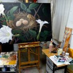 Intensity at the easel