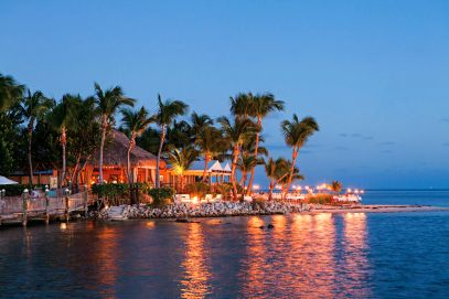 Little Palm Island Resort and Spa, a private island resort in the Florida Keys, Florida, USA.